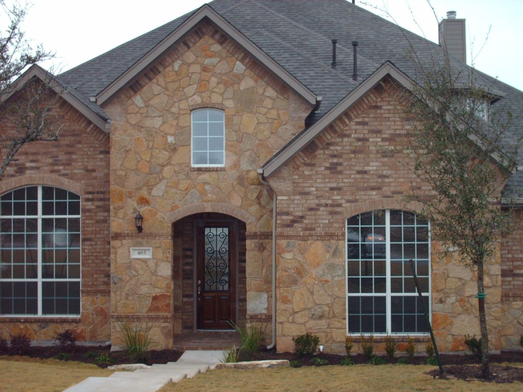 Jandjw for Stone and brick home designs